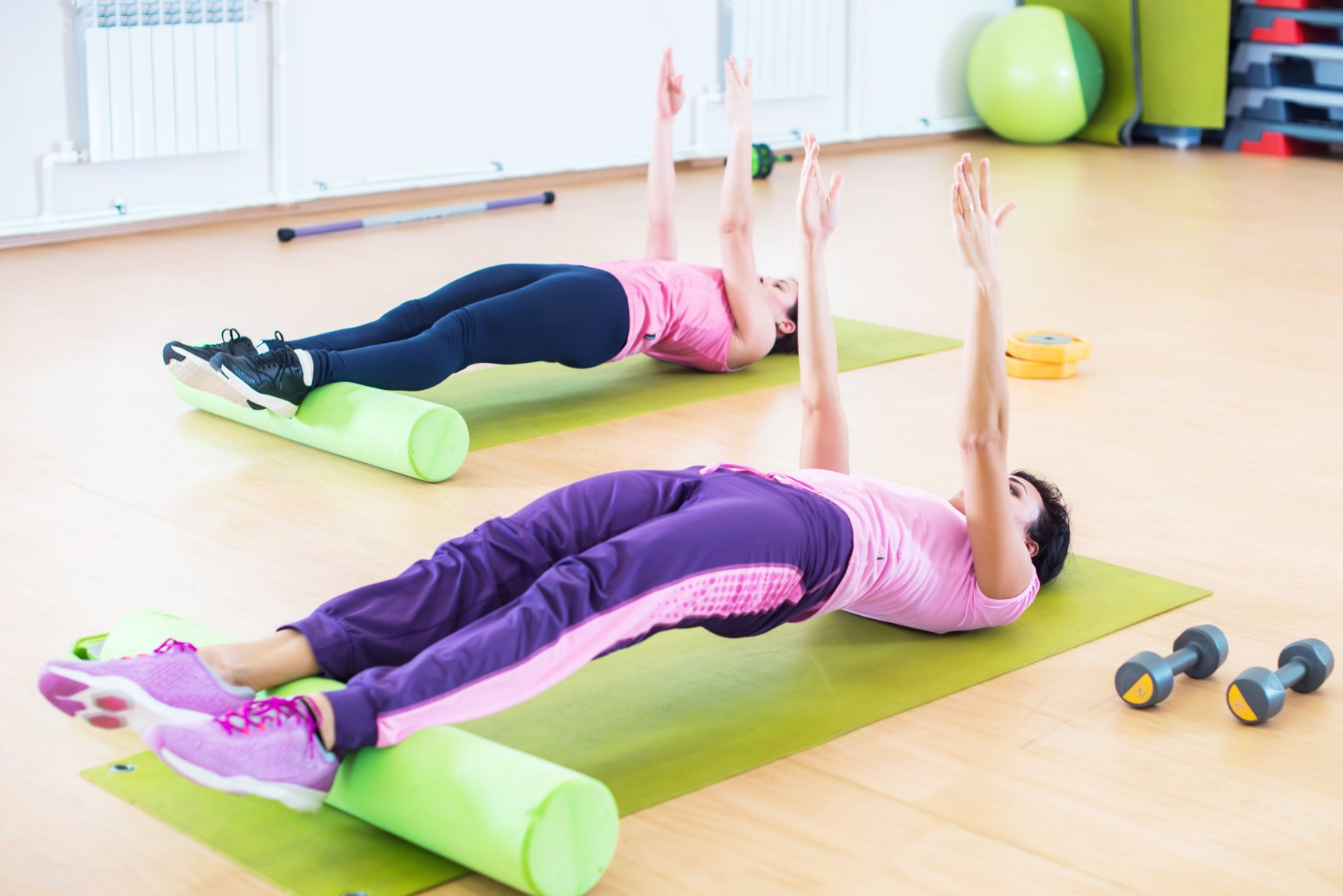 PILATES INTERMEDIAIRE LUNDI 12